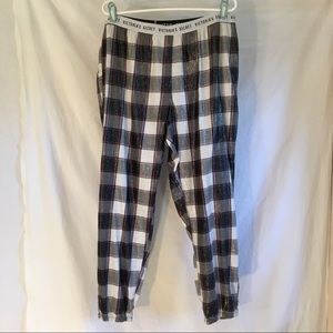 Victoria Secret Plaid PJ bottoms